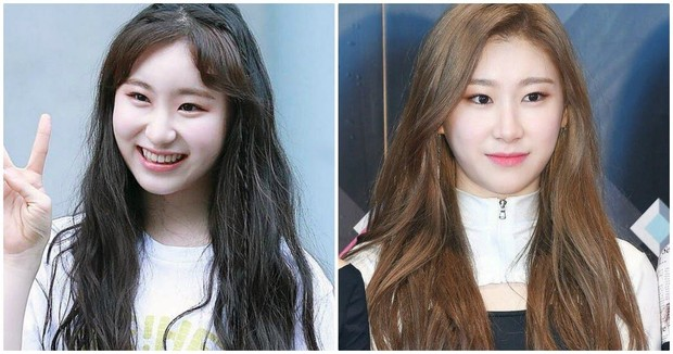 Lee Chaeyeon dan Lee Chaeryeong