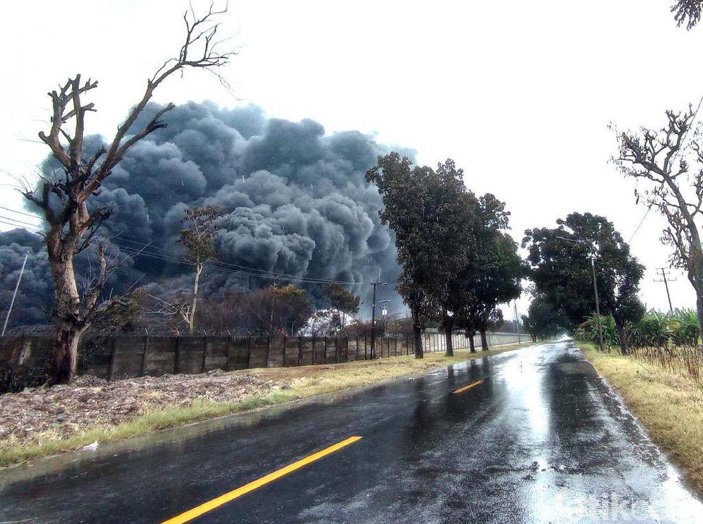 Sudah Sebulan, Polisi Belum Tentukan Tersangka Kebakaran Kilang Balongan