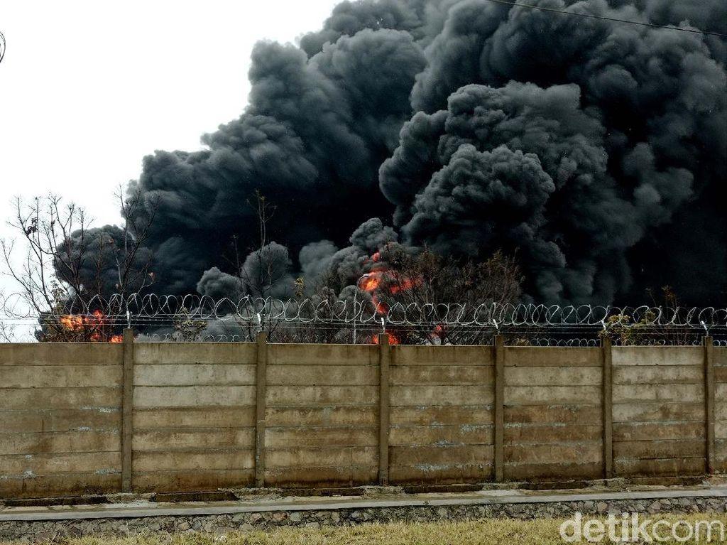 Kebakaran Tangki Pertamina, BMKG: Tidak Terdeteksi Petir di Kilang Balongan
