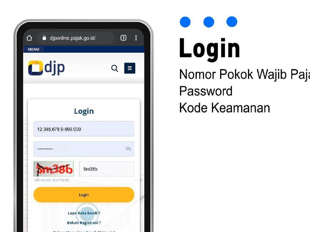 Mudah Kok, Ini Step By Step Lapor SPT Secara Online