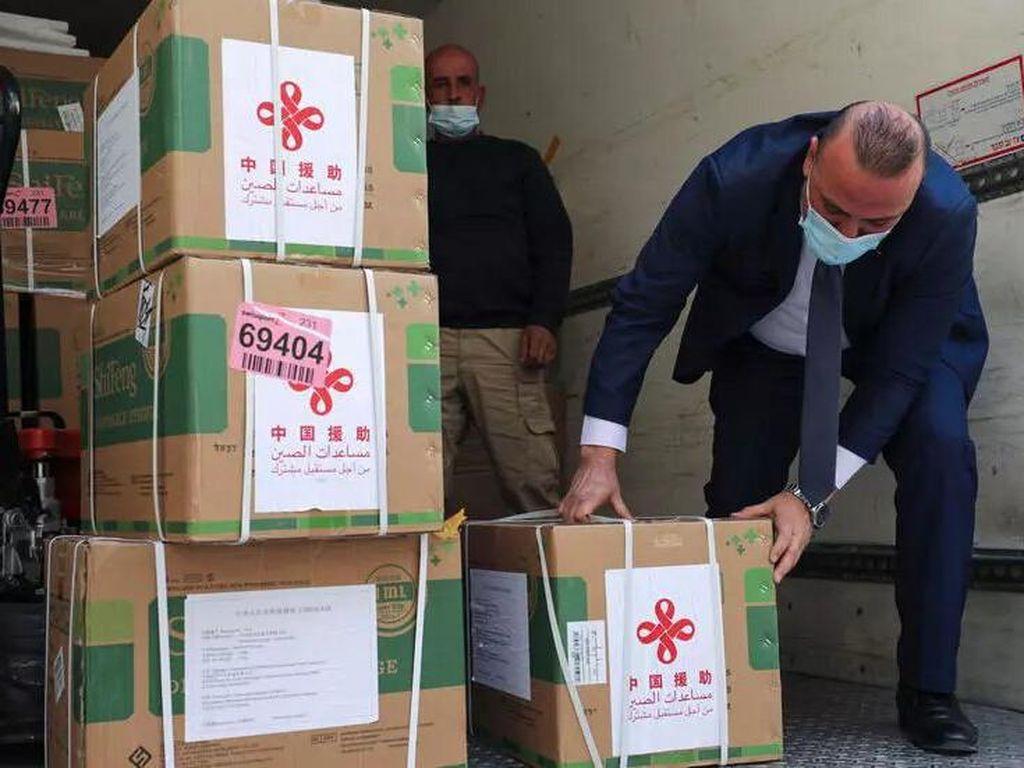 Palestina Dapat 100 Ribu Dosis Vaksin Corona dari China, Terbesar Sejauh Ini