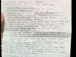 Ini Surat Wasiat Bomber di Gereja Katedral Makassar
