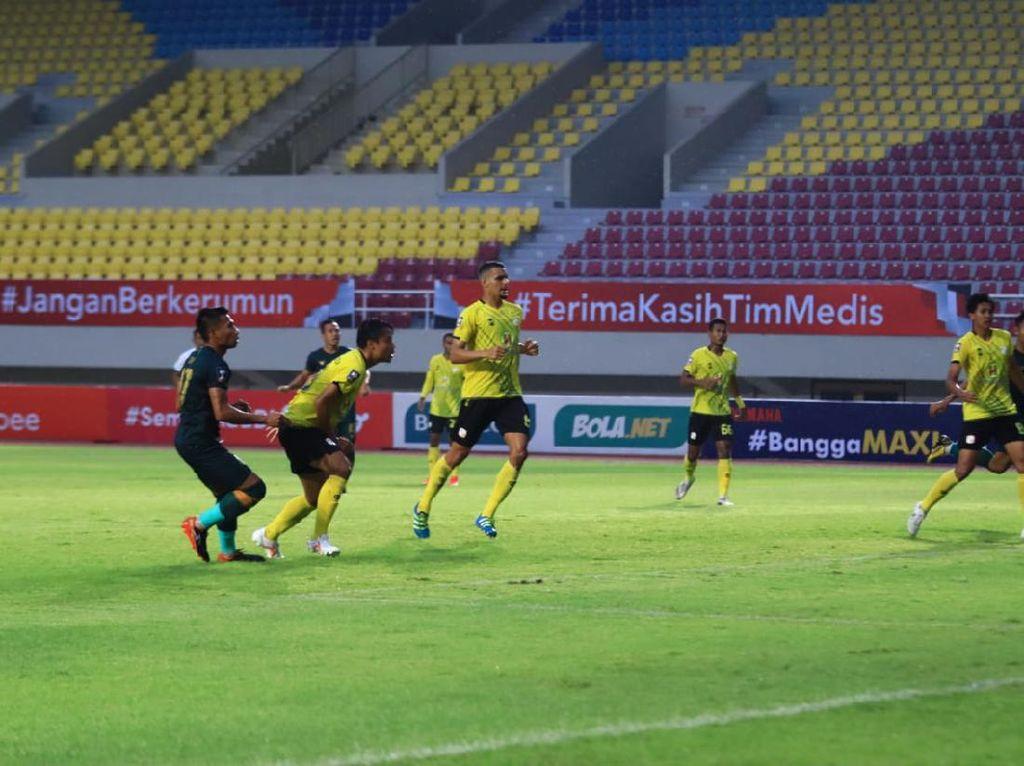 Piala Menpora 2021: Persikabo Ungguli Barito Putera di Babak Pertama