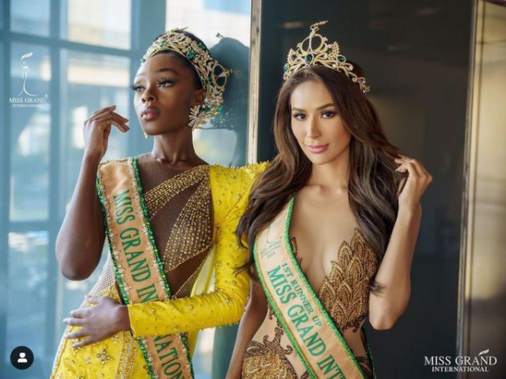 10 Foto Cantiknya Top 5 Miss Grand International 2020, Ada Wakil Indonesia