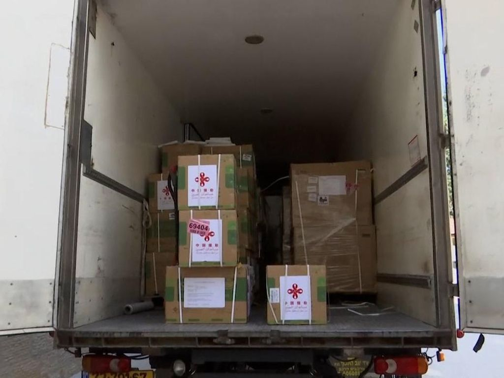 Palestina Terima 100.000 Dosis Vaksin Sinopharm Sumbangan China