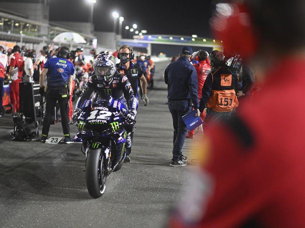 Menjanjikan di MotoGP Qatar, Vinales Enggan Jemawa