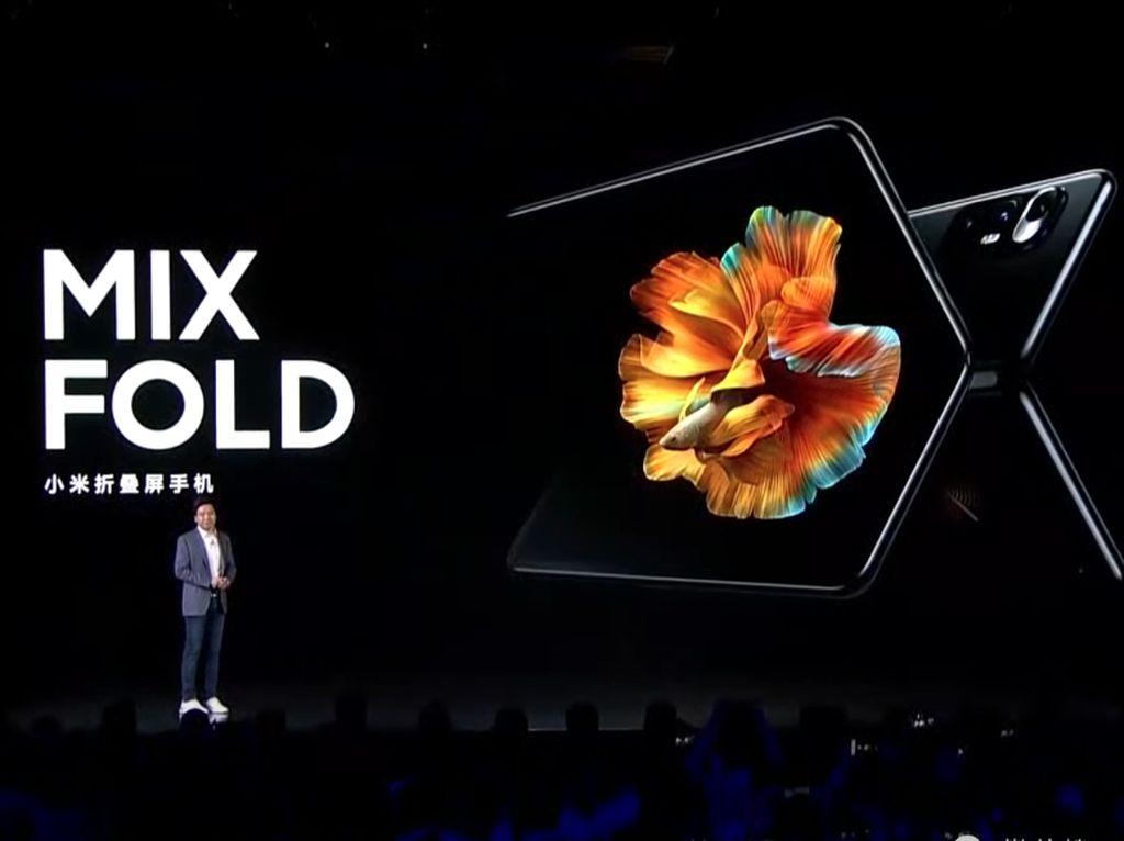 Xiaomi Mix Fold Diperkenalkan, Harganya Lebih Murah dari Galaxy Z Fold 2
