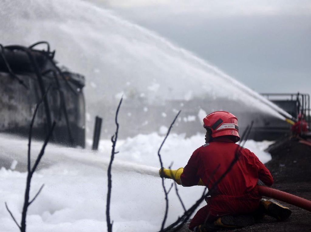 Penyebab Kebakaran Kilang Balongan Masih Misteri, Mungkinkah Disengaja?