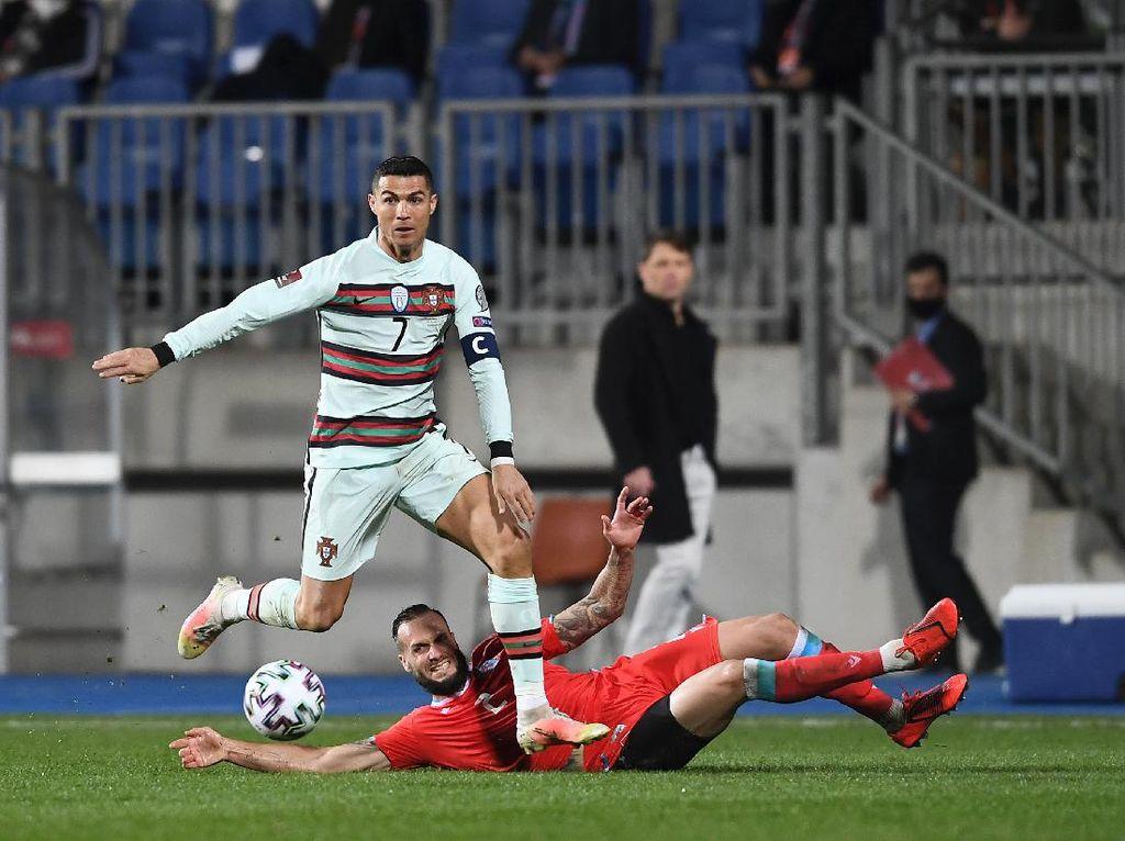 Ronaldo Memang Hobi Jebol Gawang Luksemburg