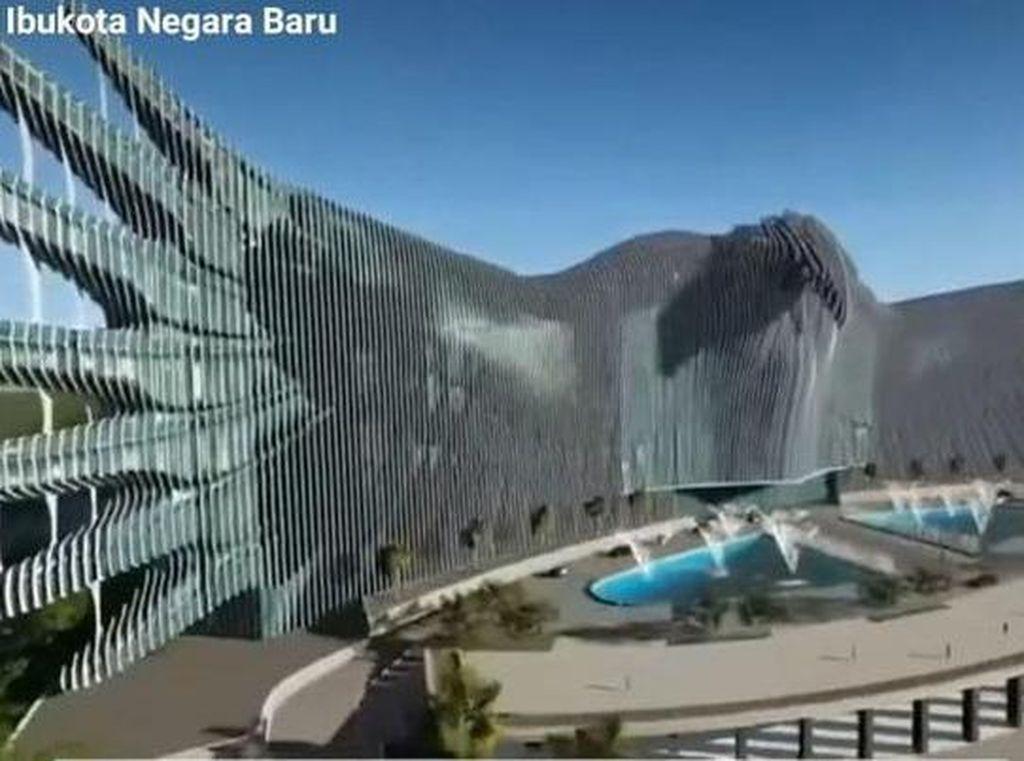 Ini Desain Istana Garuda di Ibu Kota Baru yang Diprotes Arsitek