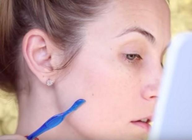 Facial Hair RemovalFoto:pinterest/angelalanter