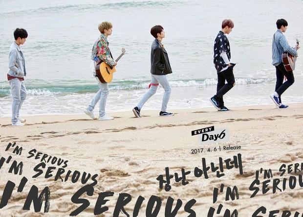 Teaser dari music video lagu I'm So Serious milik band ternama Day6.