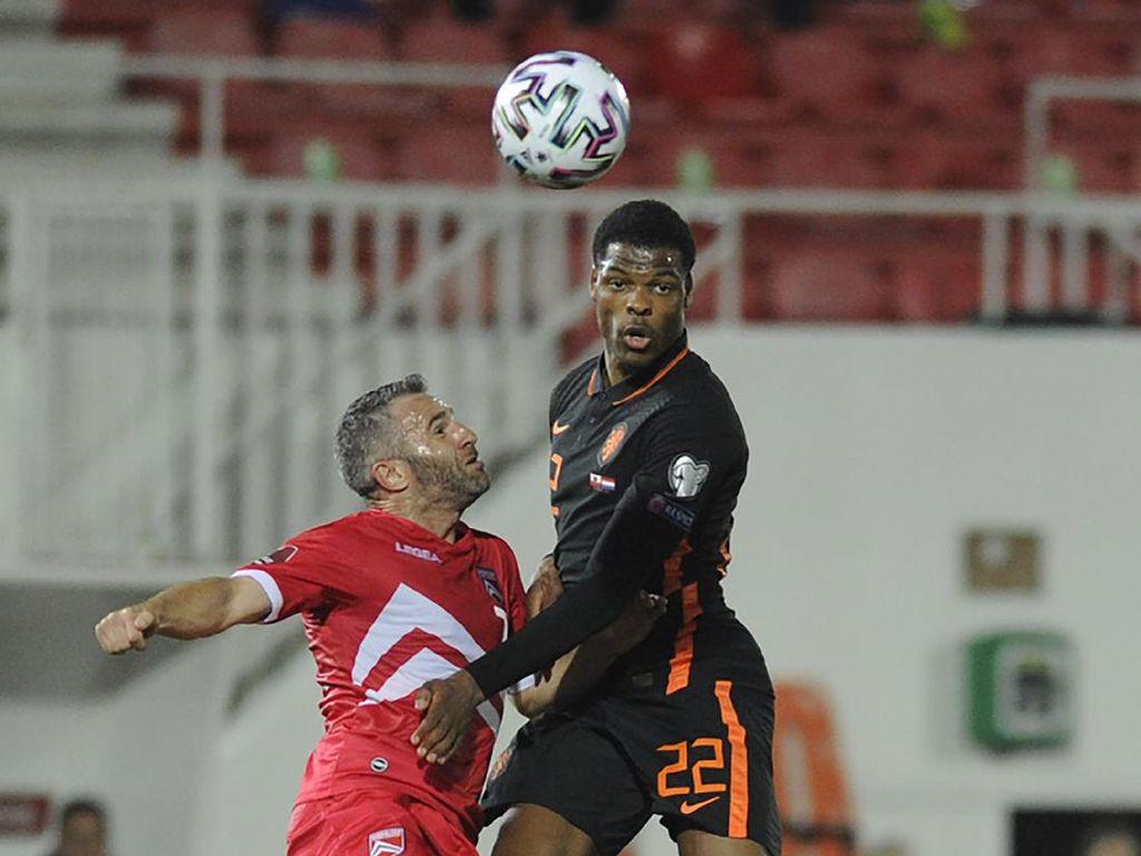 Hasil Kualifikasi Piala Dunia 2022: Belanda Sikat Gibraltar 7-0