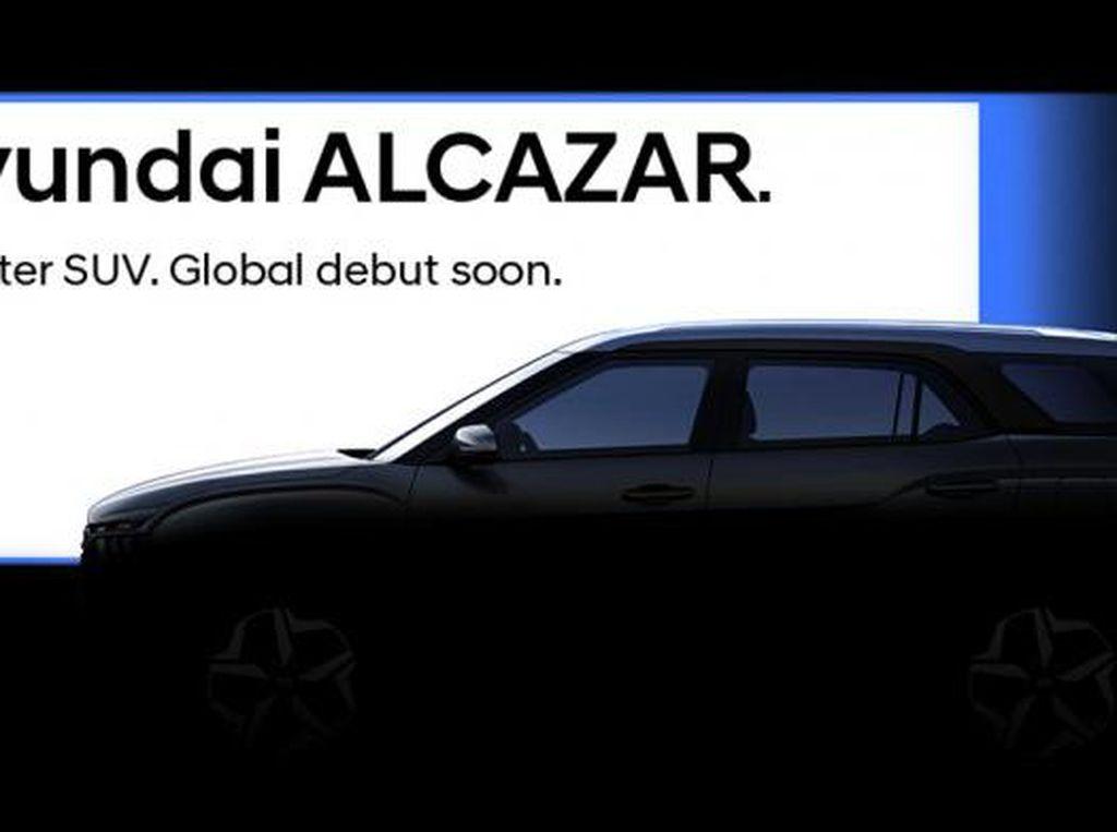 Hyundai Alcazar Cocok Buat Lawan Terrios-Rush Cs di RI?
