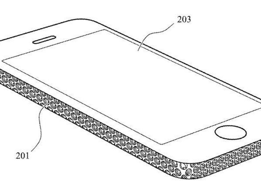 Apple Patenkan Desain iPhone Ala Parutan Keju