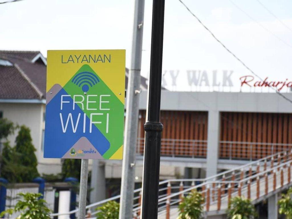 5 Ruang Publik di Majalengka Kini Dilengkapi WiFi Gratis