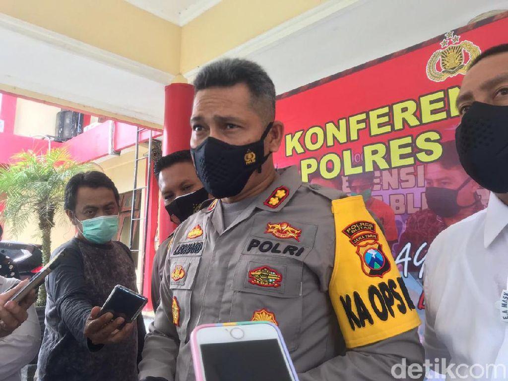 Polisi Blitar Gandeng Banser dan Ormas untuk Pengamanan Paskah