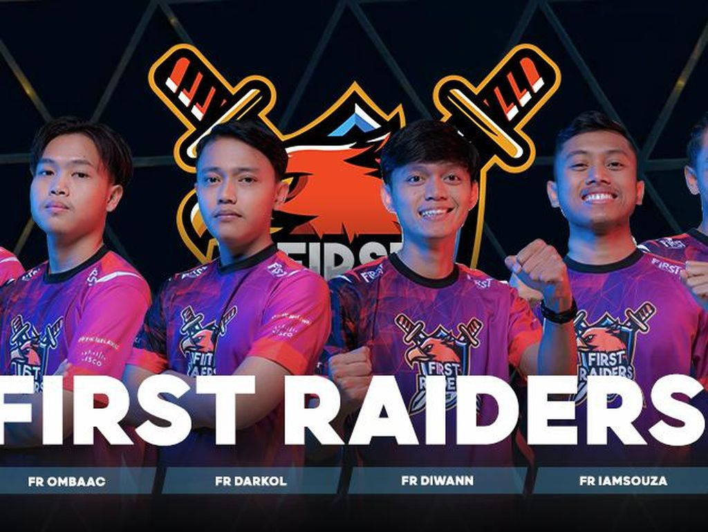 Tim First Raiders Wakili RI di Free Fire WS 2021 Singapura