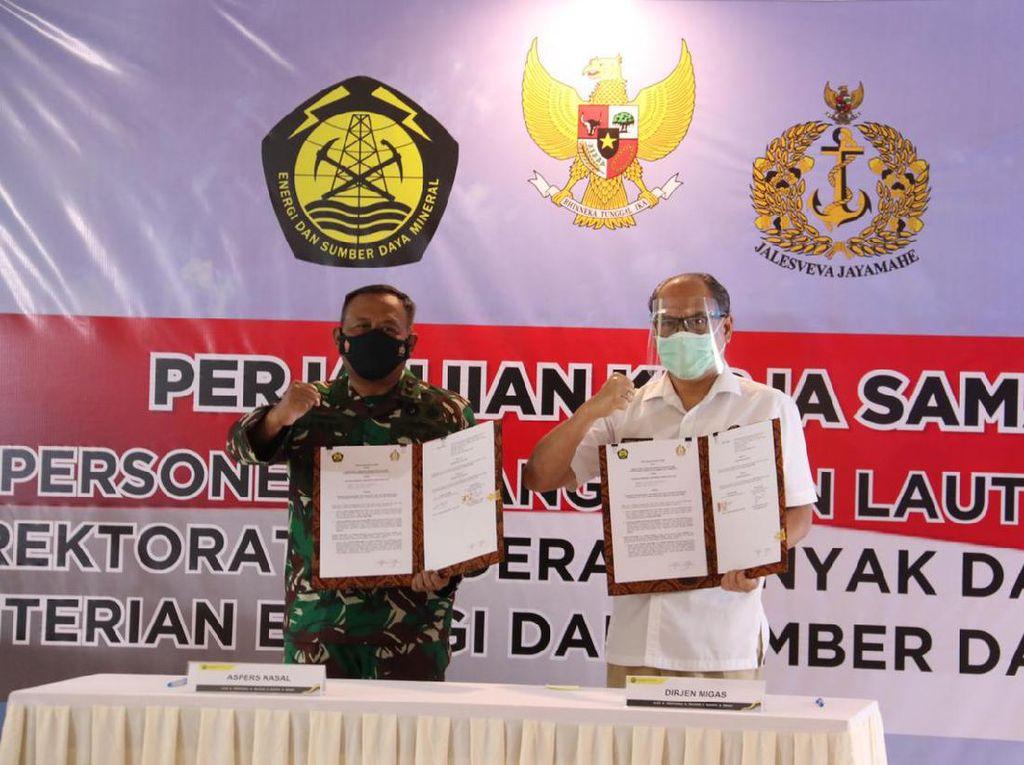 Kementerian ESDM Gandeng TNI AL Monitor Migas di Lepas Pantai