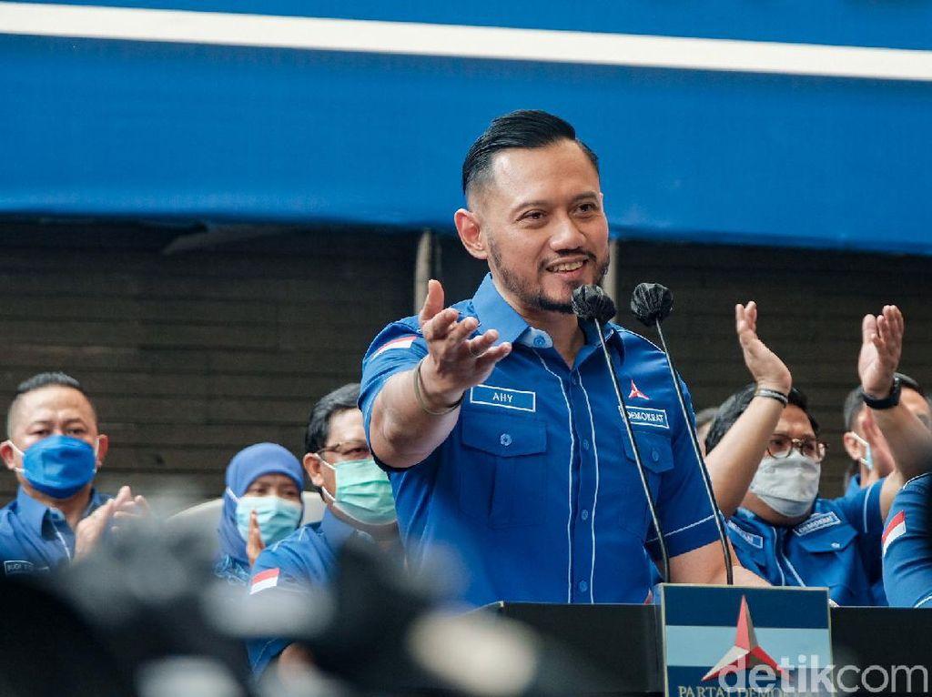 AHY Gugat Marzuki Alie dkk untuk Tidak Pakai Atribut Partai Demokrat