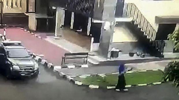 Mabes Polri Diserang Teroris