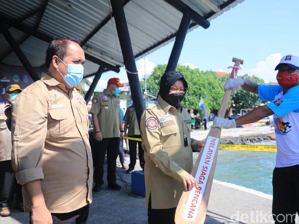 Mensos Risma Canangkan Pelatihan 1.000 Nelayan Siaga Bencana di Pangandaran