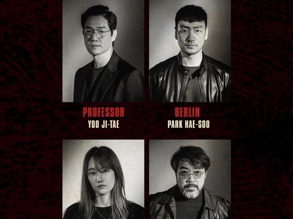 Ini Dia Daftar Pemeran Money Heist Versi Korea
