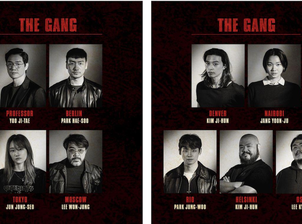 Confirmed! Ini Deretan Aktor yang Bintangi Money Heist Versi Korea