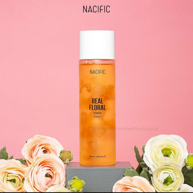 Nacific Real Floral Rose Toner (sumber : instagram.com/nacificofficial.id)