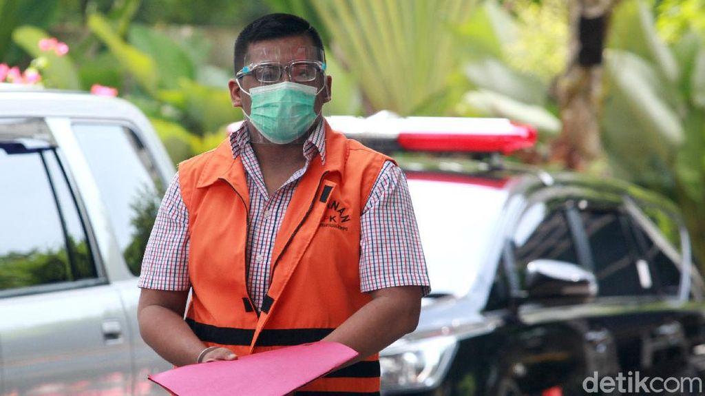 Bermasker Ferdy Yuman Diperiksa KPK