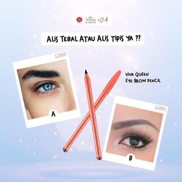 Pensil Alis Viva Queen Eyebrow