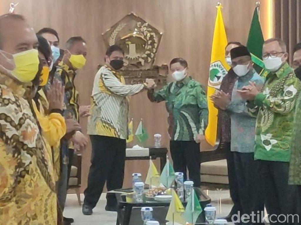 Bertemu Airlangga, Suharso Ungkap PPP-Golkar Banyak Kesamaan