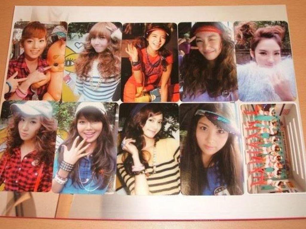 9 Tampilan Photocard SNSD Oh! Photocard Pertama di Industri Musik K-Pop