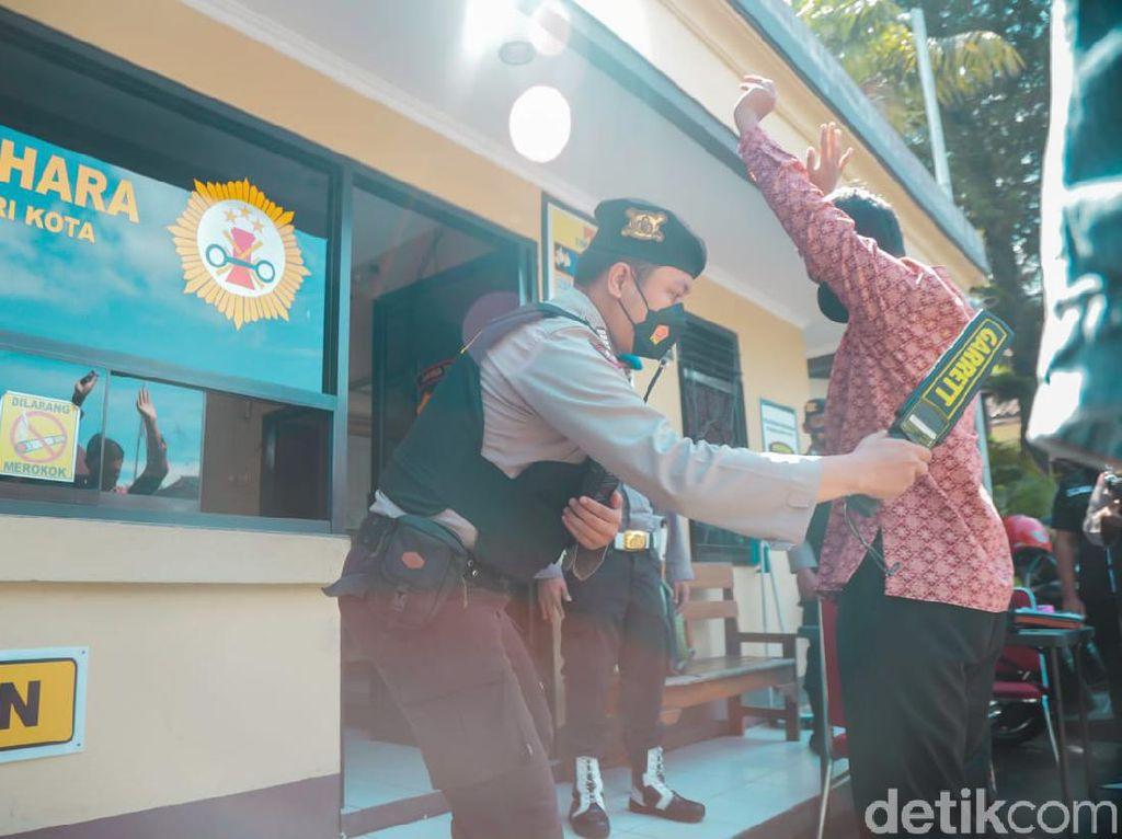 Polisi Kota Kediri Makin Siaga Jaga Keamanan Jelang Paskah