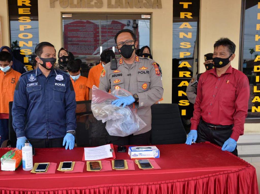 ABG di Langsa Aceh Diperkosa Bergilir 10 Pemuda, 9 Pelaku Ditangkap
