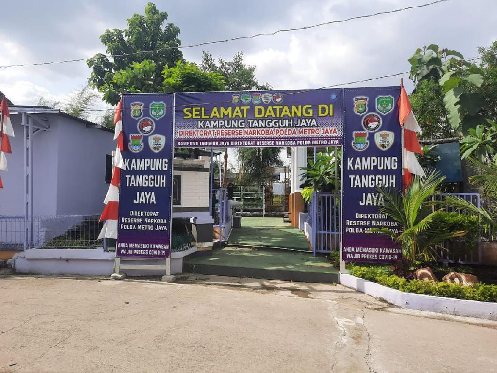 Ruang Isolasi Mandiri di Kampung Tangguh Bojong Nangka Serasa Kamar Kos