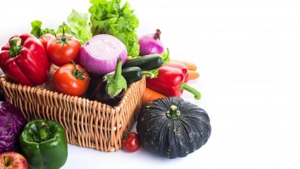 Sayur-sayuran.