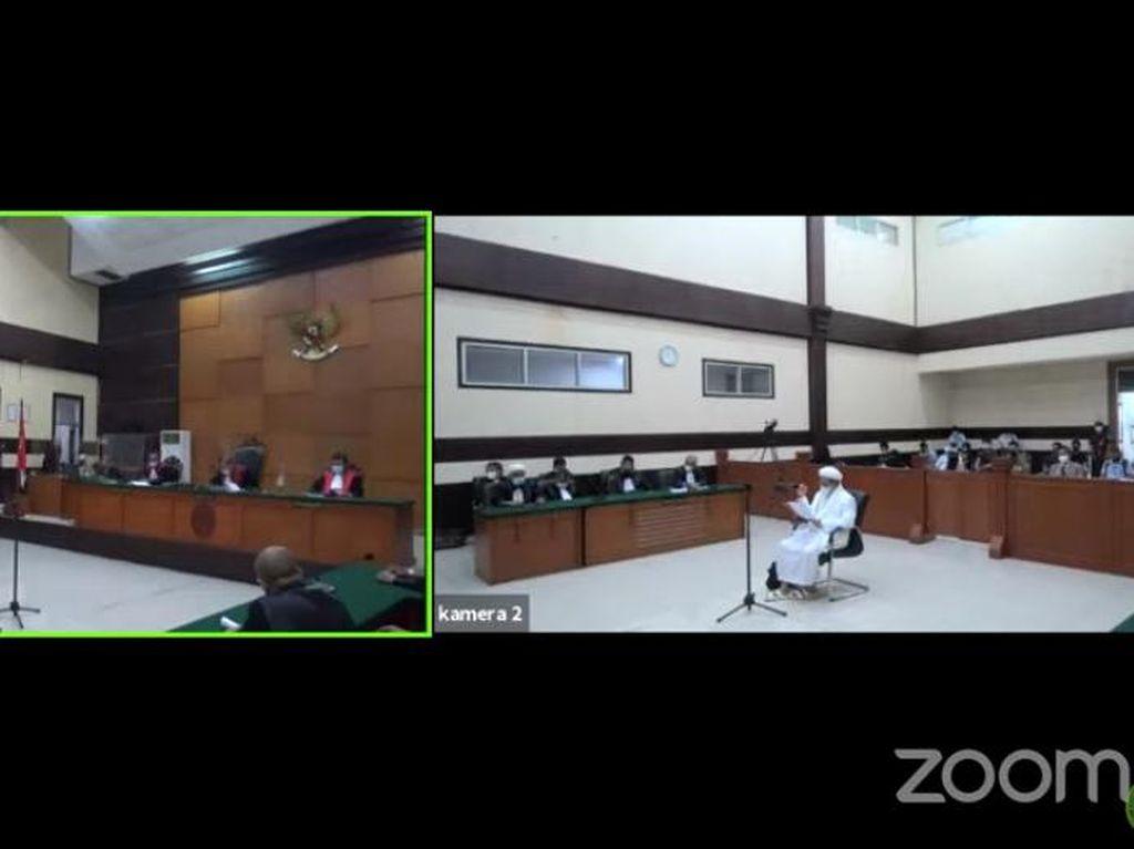 Tudingan Terbaru Habib Rizieq Sebut Jaksa Lakukan Kebohongan Publik