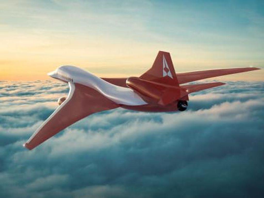 Foto: Jet Supersonik Ini Janjikan Tempuh New York-London dalam 4,5 Jam