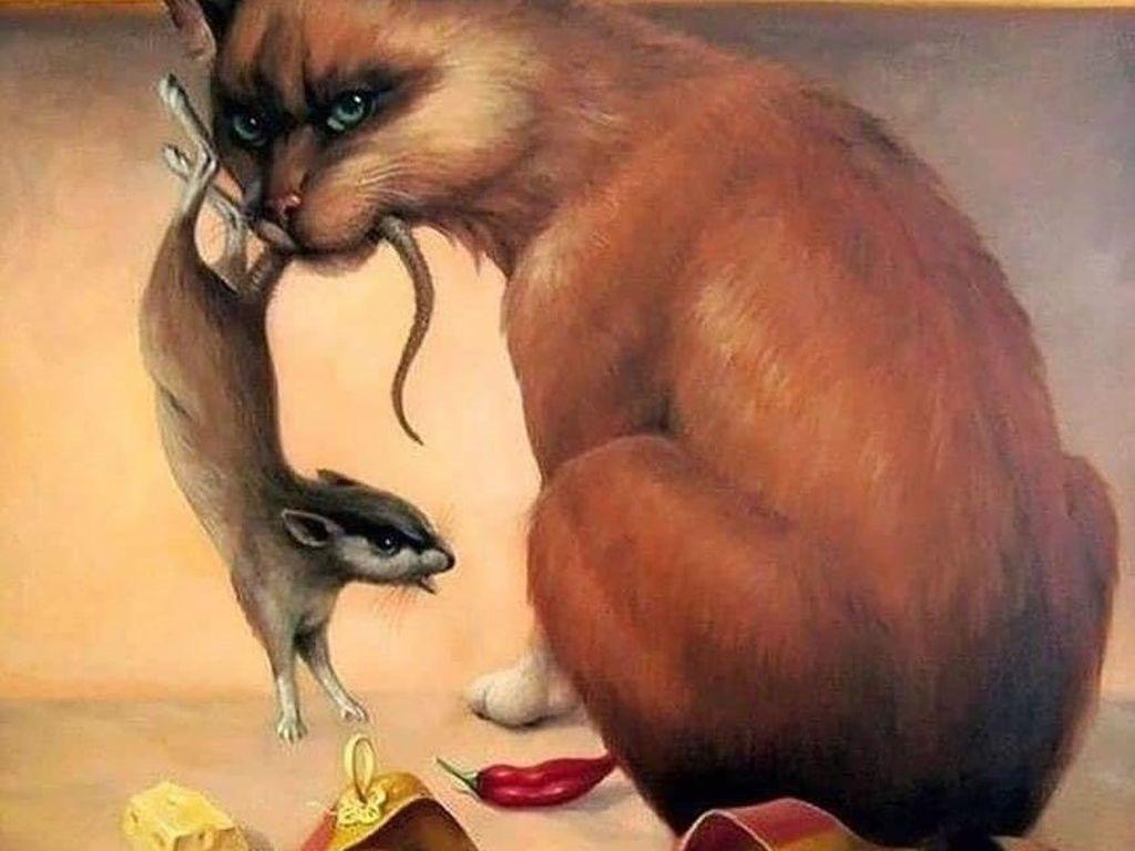 Tes Kepribadian: Gambar Kucing, Tikus, atau Wanita yang Pertama Kamu Lihat?