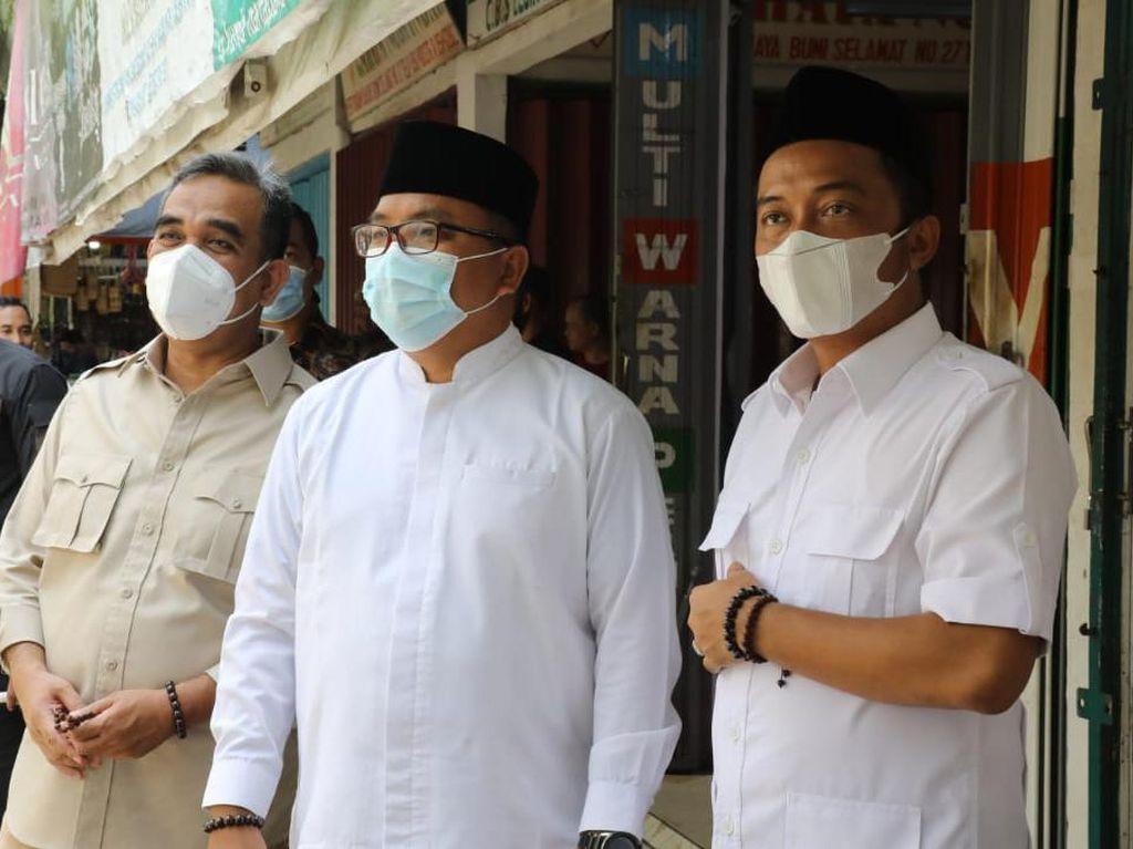 Jelang PSU Pilgub Kalsel, Muzani-Gus Irfan-Denny Ziarah Makam Syekh Al Banjari