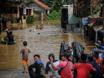 Baleendah Banjir Gegera Citarum Meluap