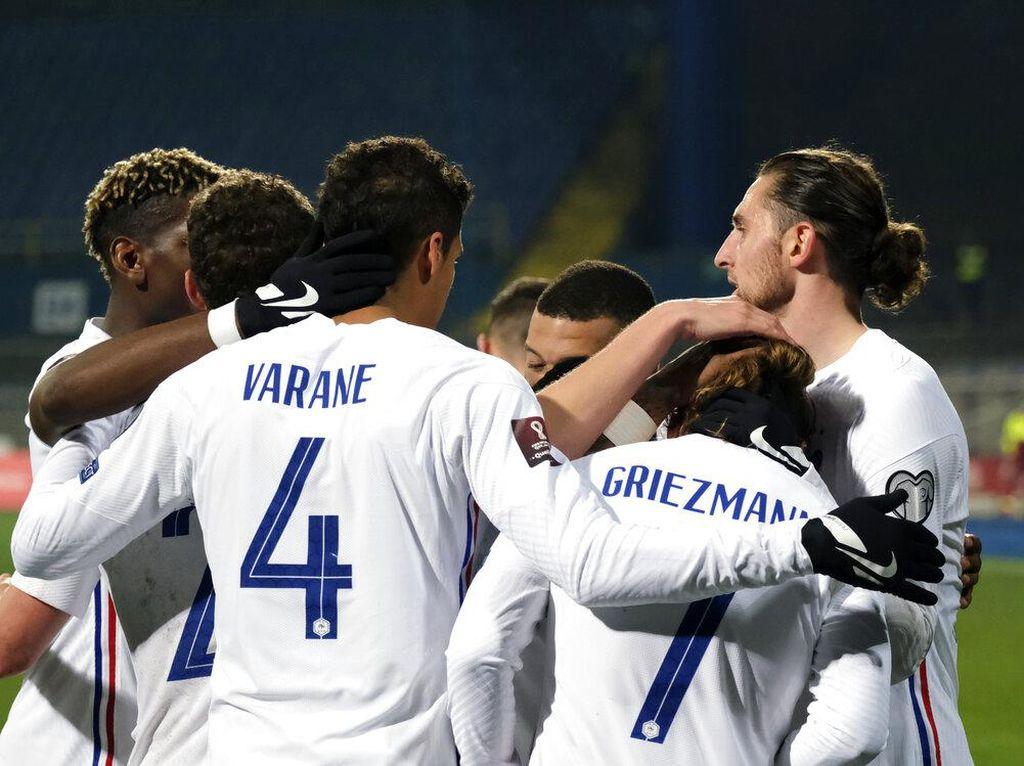 Griezmann Cetak Gol, Prancis Menang Tipis 1-0 Atas Bosnia
