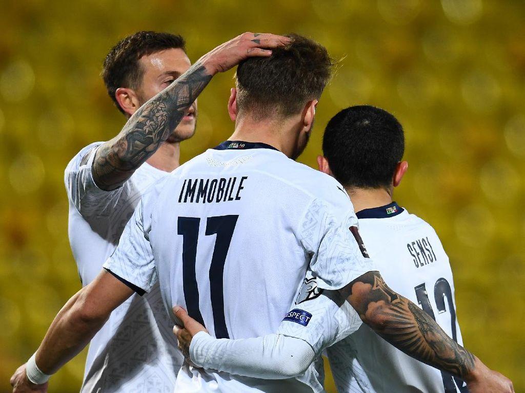Kualifikasi Piala Dunia 2022: Italia Bungkam Lithuania 2-0