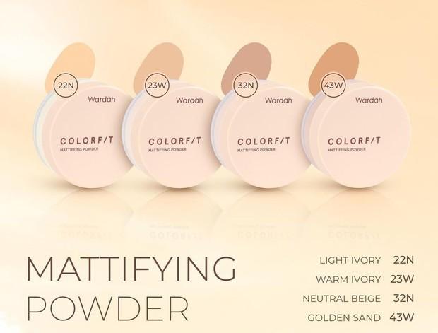 Colorfit Mattifying Powder