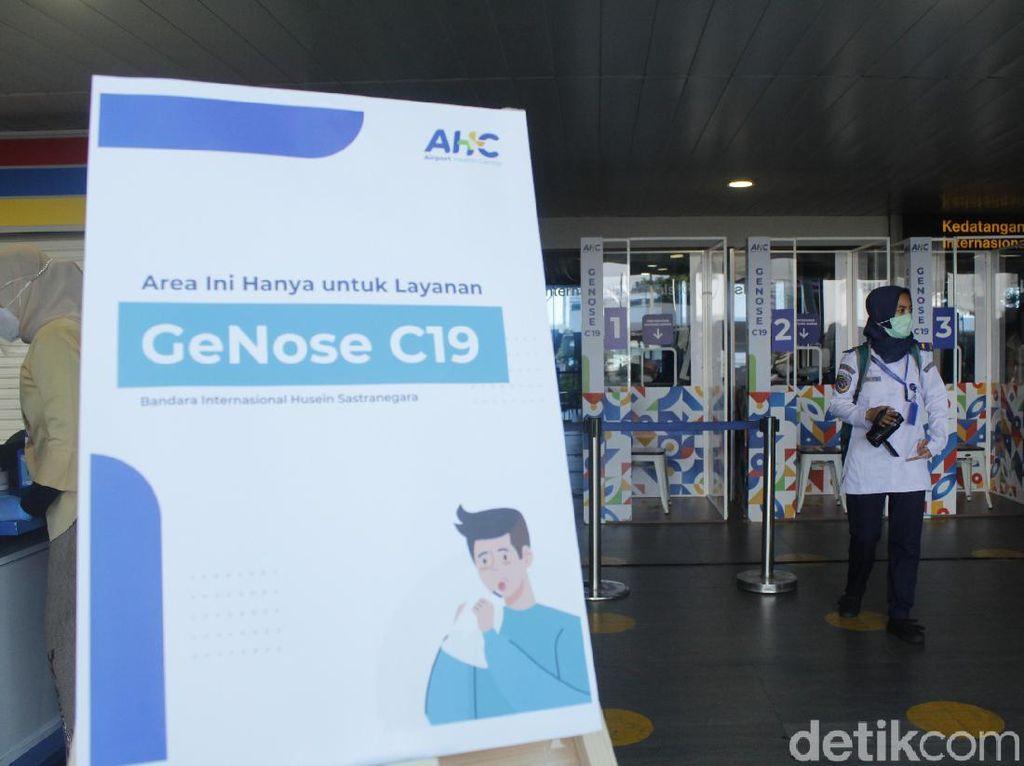 Catat! Ini Daftar Bandara yang Menyediakan Layanan GeNose C-19