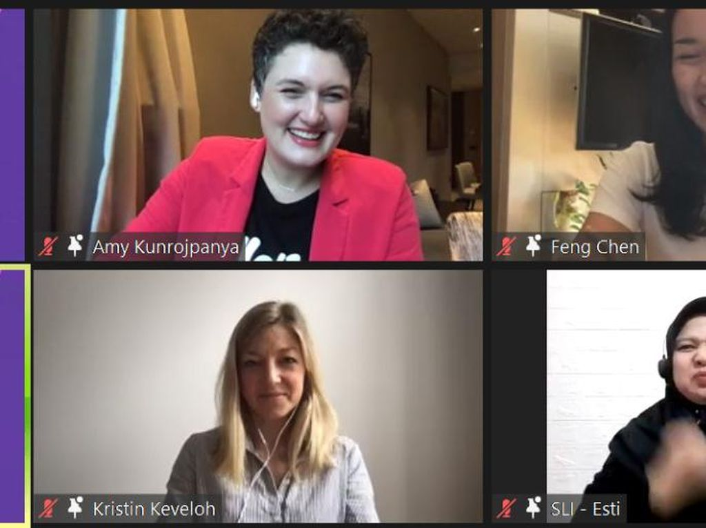 Dukung Ekualitas Gender, Gojek Gelar Diskusi Closing the 100-Year Gap
