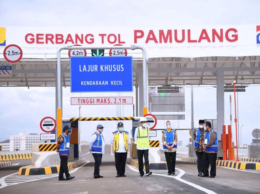 Diresmikan Jokowi, 2 Tol Ini Dibuka Gratis Selama 14 Hari