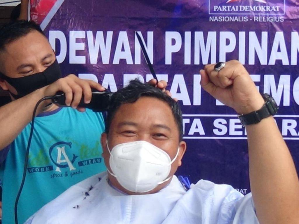 PD Moeldoko Ditolak, Kader di Jateng Syukuran-Cukur Gundul