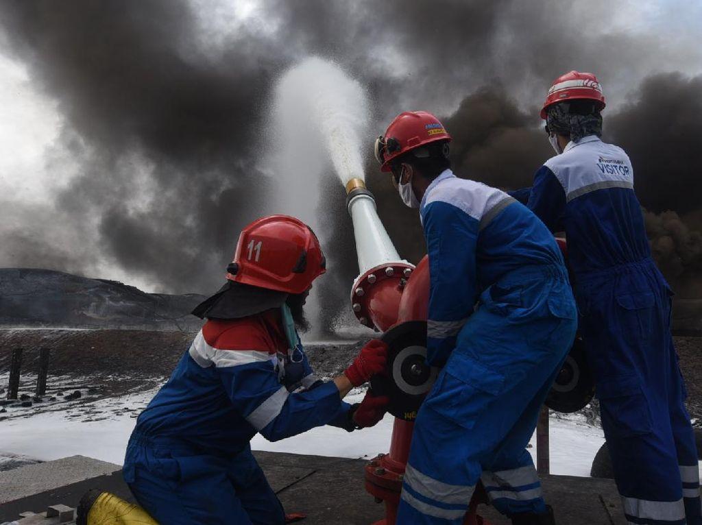 Pertamina Siap Kebut Investigasi Insiden Kebakaran Kilang Balongan